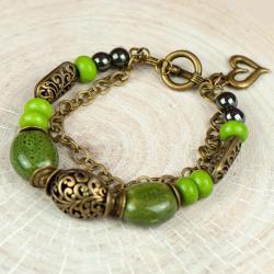 bransoletka ceramiczna,bransoletka damska - Bransoletki - Biżuteria