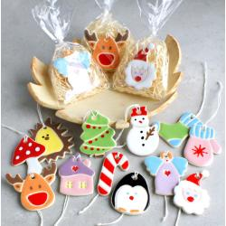 choinka,bałwanki,śnieżynki,bombki,zawieszki - Ceramika i szkło - Wyposażenie wnętrz