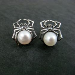 drobne,perłowe - Kolczyki - Biżuteria