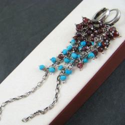 długie,barwne - Kolczyki - Biżuteria