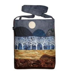 pejzaż,góry,krajobraz,torba,a4 - Na ramię - Torebki