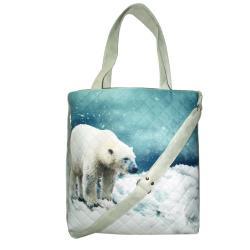 niedźwiedź,miś,pojemna,na zakupy,do szkoły, - Na ramię - Torebki