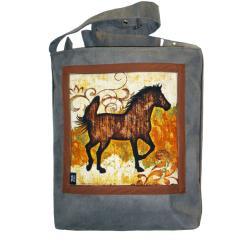 koń,ogier,klacz,konie - Na ramię - Torebki