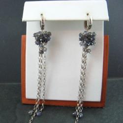 długie,z iolitem - Kolczyki - Biżuteria