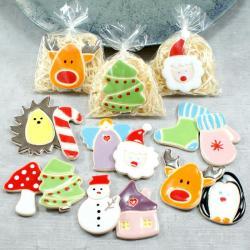 Mikołaj,ozdoba świąteczna,na lodówkę - Ceramika i szkło - Wyposażenie wnętrz