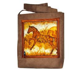 koń,ogier,klacz,konie,a4 - Na ramię - Torebki